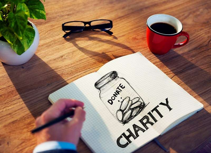 £750m support for charities