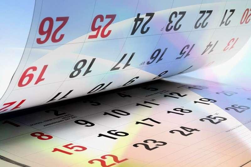 Upcoming bank holiday dates
